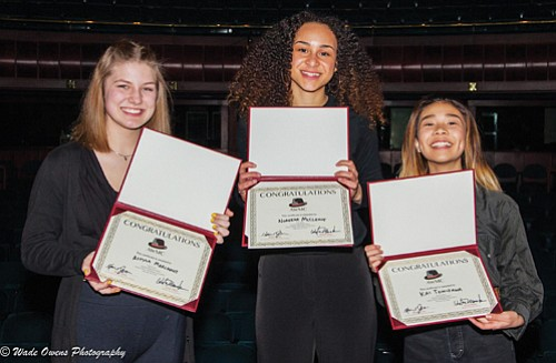 Thirteen young women gave their all at the recently competed August Wilson Monologue Competition