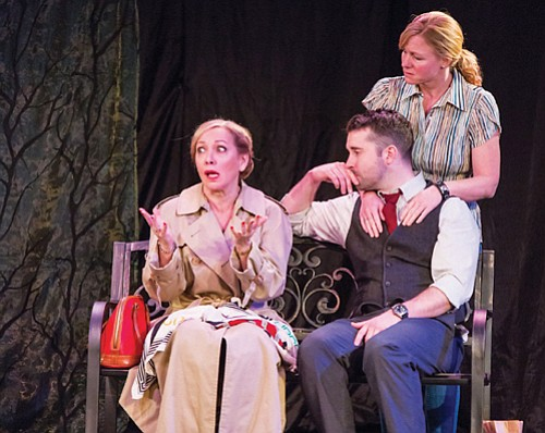 """Mom has been holding on to some secrets and her son some resentments in """"Our Mother's Brief Affair,"""" a play ..."""