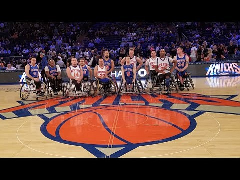 The Rollin' Knicks are part of the National Wheelchair Basketball Association, which was founded in 1948 and comprises more than ...