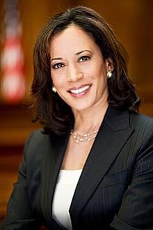 Senators Kamala Harris (D-CA), Cory Booker (D-NJ) and Tim Scott (R-SC), the only African-American members of...