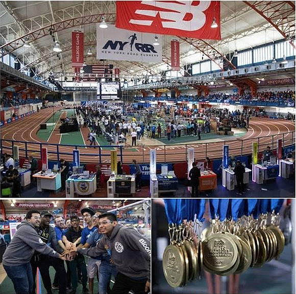 The Armory New Balance Track & Field Center in Washington Heights is transforming into a technology and engineering laboratory for ...