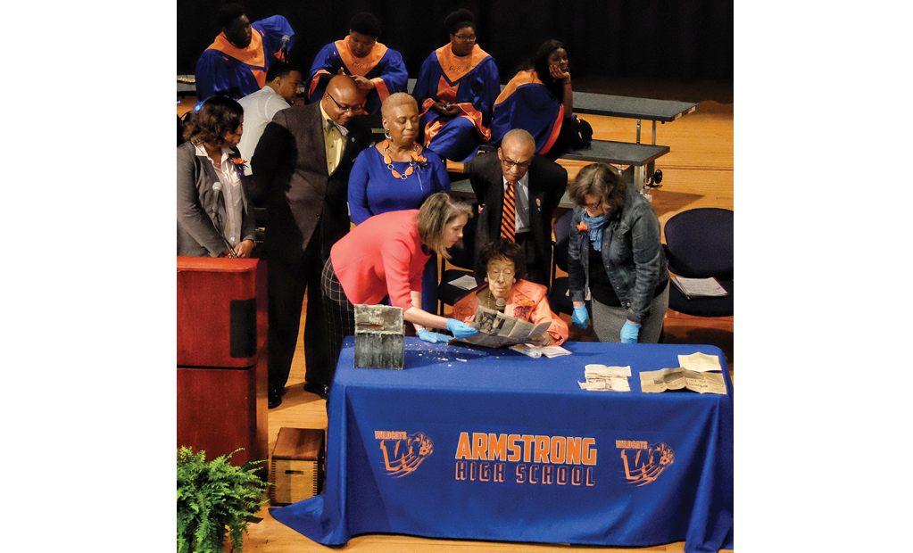 Armstrong High Time Capsule Takes Alumni Students Back In History Richmond Free Press Serving The African American Community In Richmond Va