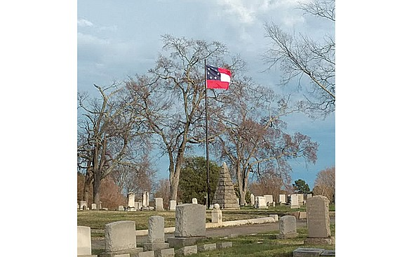 The Confederacy may have been defeated, but the flags of the rebels who fought to separate from the United States ...
