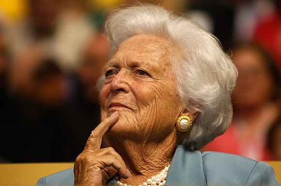 On Tuesday night, word came that Barbara Bush, the 92-year-old doyenne of the first family of Republican politics, had passed ...
