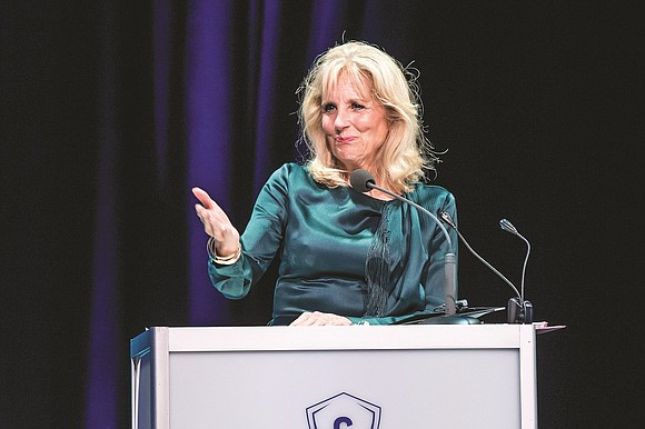 Dr. Jill Biden, the wife of former Vice President Joe Biden, said a new public and private partnership between Concordia ...