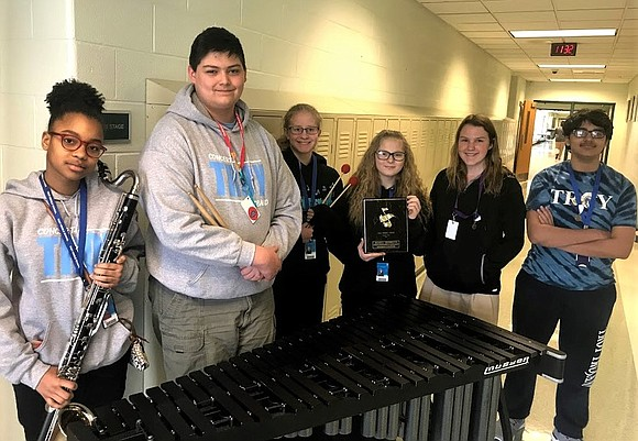 Three Troy Middle School and William B. Orenic Intermediate School choirs and three bands earned Division 1 Awards at the ...