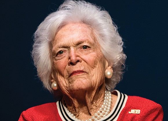 A private funeral for former First Lady Barbara Bush, the only American woman to see her husband and son both ...
