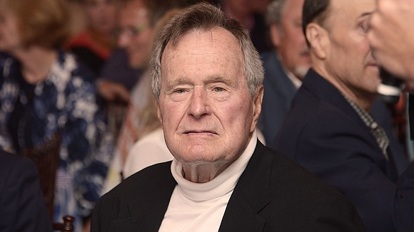 Former President George H.W. Bush is awake, alert and talking after he was admitted to intensive care earlier this week, ...