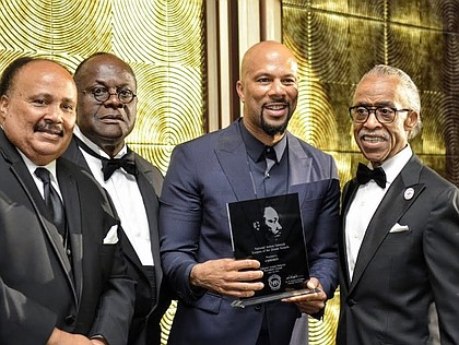 MLK III, Chairman W. Franklin Richardson, Common and the Rev. Al Sharpton
