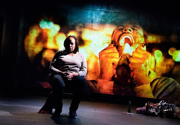 Dale Orlandersmmith's Until The Flood, playing in the intimate Owen Theatre at Goodman Theatre now though May 12 is exactly ...