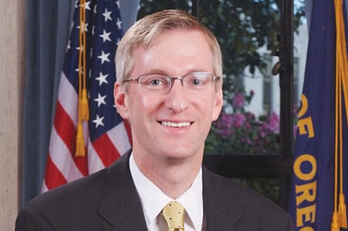 Mayor Ted Wheeler announced his proposed general fund budget of $553 million Monday, which included increased monies for homeless services, ...