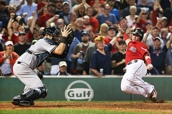One of the fiercest rivalries in sport -- the New York Yankees versus the Boston Red Sox -- is on ...