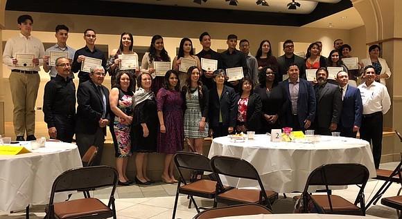 JTHS Students & Alumni awarded the 2018 Dr. Daniel Gutiérrez Scholarships, eight are Joliet Central seniors, four are Joliet Central ...