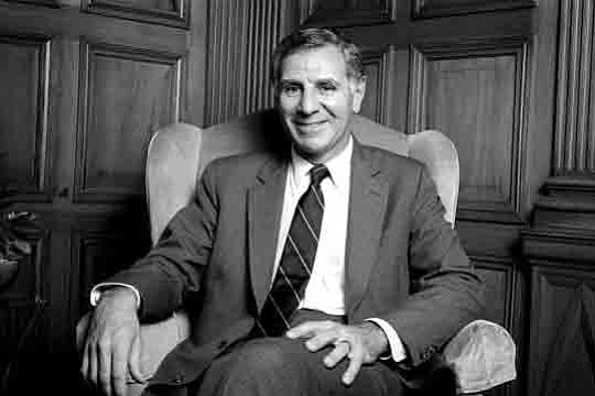 Former California Gov. George Deukmejian, who served two terms as the state's chief executive..