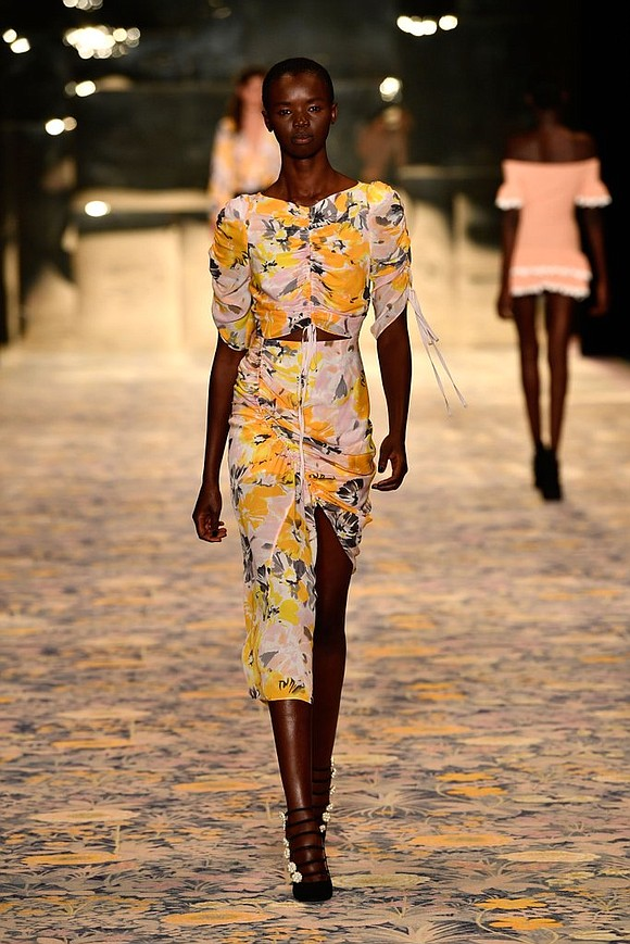 Australian fashion designer Alice McCall's collection, shown on the second day of Mercedes-Benz Fashion Week Australia, made a smashing showing ...