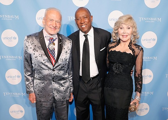 It was a glamorous night of Houstonians on the red carpet that led to a grandiose evening at the UNICEF ...