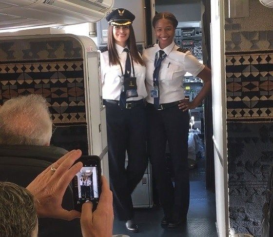Alaska Airlines marked a milestone on Mother's Day, as one of its West Coast flights became the first to be ...