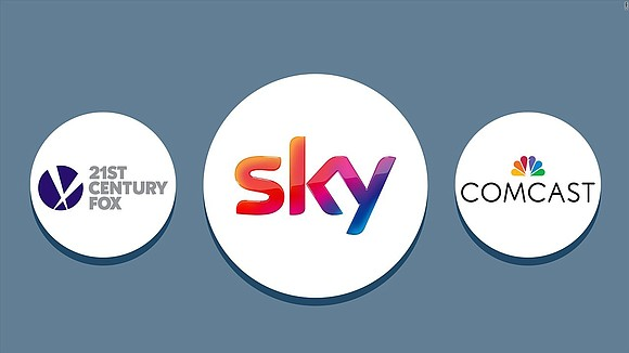 Comcast is on the cusp of getting approval from the UK government to buy British broadcaster Sky for £22 billion ...