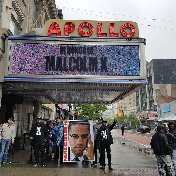 Malcolm X's legacy was commemorated Saturday in acknowledgment of the 93rd anniversary of his birth.