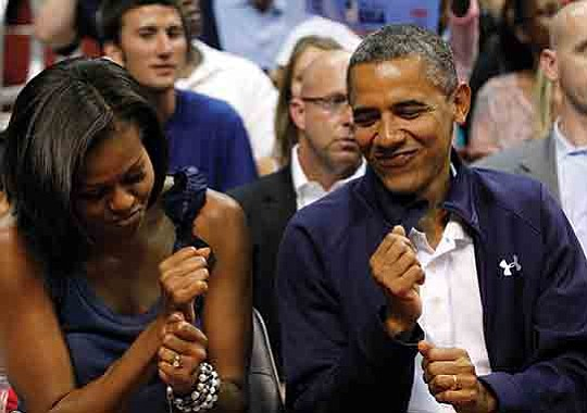 Barack and Michelle Obama are getting into the entertainment business.