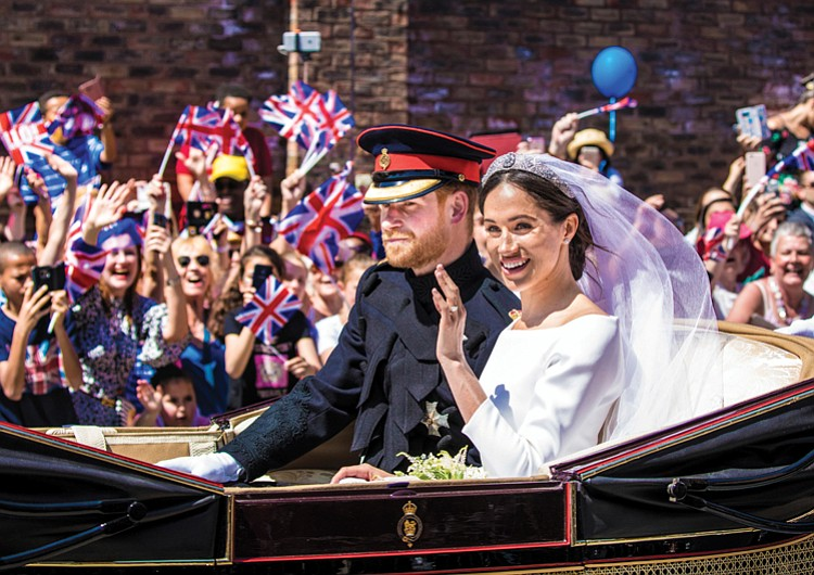 Prince Harry And His American Actress Bride Meghan Markle Married On Saay In A Dazzling Ceremony