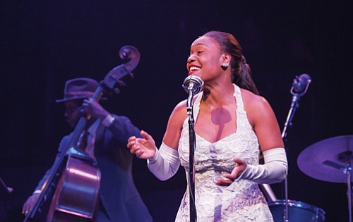 "Deidrie Henry returns to The Armory to star as Billie Holiday in ""Lady Day at Emerson's Bar and Grill,"" a ..."