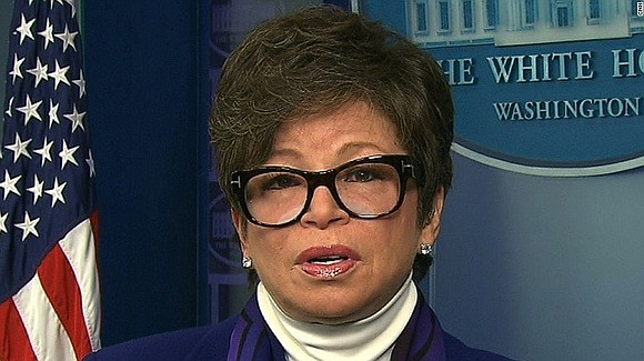Valerie Jarrett, a former top aide to President Barack Obama, reacted to actress Roseanne Barr's racist Twitter rant that led ...