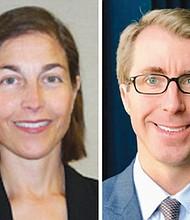 Karin Immergut (left) and Ryan Bounds