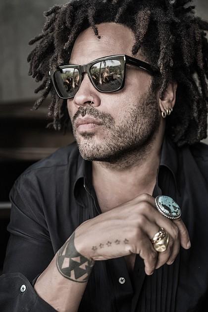 Lenny Kravitz/photo by Mathieu Bitton