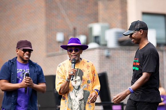 Filmmaker and Brooklyn's own Spike Lee hosted his third annual Prince Born Day Purple People Party all day Saturday, June ...