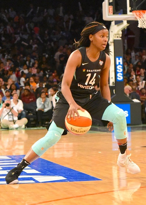 Five New York Liberty players scored in double figures, with guard Sugar Rodgers leading the way with 16 points, as ...