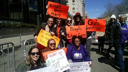 March for Our Live Rally in NYC