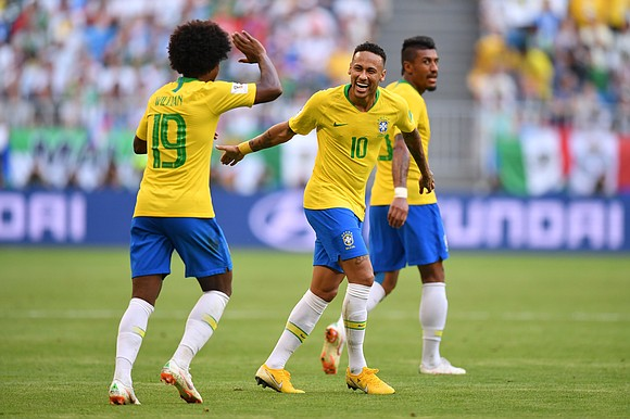 In a World Cup which has had little respect for pedigree, Brazil made sure it did not become the latest ...
