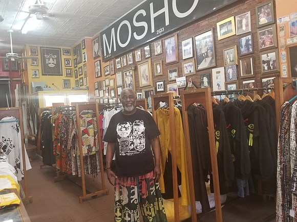 Moshood Creations and the fashion boutique's founder Moshood Afariogun have been a fixture at 698 Fulton St., Fort Greene, Brooklyn, ...