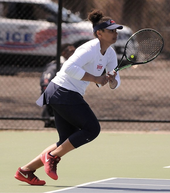 It's a grueling schedule for Howard University tennis player Nicole Hutchison, a broadcast journalism major spending her summer in New ...