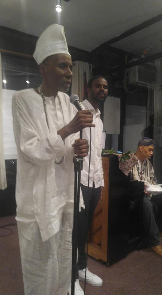 Brooklyn proper came out to celebrate Stan Kinard, educator and activist, at Sistas' Place in Bed-Stuy.