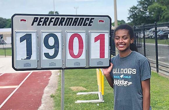 Virginia's high school long jump champion has deep Richmond roots. Natalie Barnes, a rising senior at Stone Bridge High in ...
