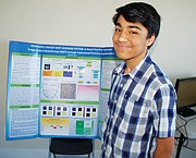 "A finalist for the title of ""America's Top Young Scientist,"" Stoller Middle School student Rishab Jain credits other family members for getting him interested in scientific fields growing up."