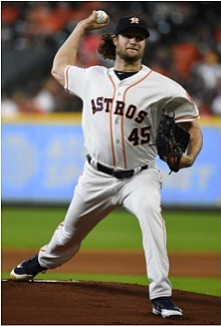Houston -- Gerrit Cole (10-2) made a resounding return from the bereavement list going 5 2/3 innings and only allowing ...