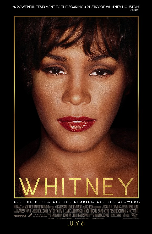 We all knew Whitney Houston, the star.