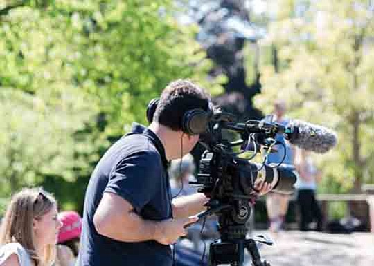 The city of Santa Clarita saw an increase in on-location filming in Fiscal Year 2017-2018..