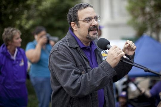 32BJ SEIU president Hector Figueroa has died from a heart attack