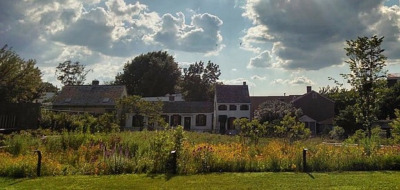 """The Weeksville Heritage Center in Brooklyn opened a new exhibit to visitors titled """"From Africa to Weeksville: The Eric Edwards ..."""