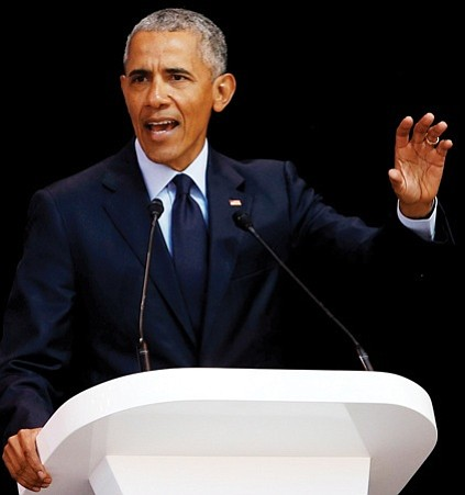 In his highest profile speech since leaving office, former President Obama on Tuesday denounced the policies of President Trump without ...