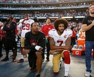 The NFL and NFL Players;' Association has agreed to put the League's new national anthem policy on hold.