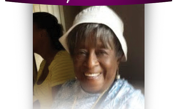 Beverly A. Moorehead, mother of Dr. Brenda M. Greene, JoAnn and Dennis Adams and Lori Moorehead, and grandmother of rapper ...