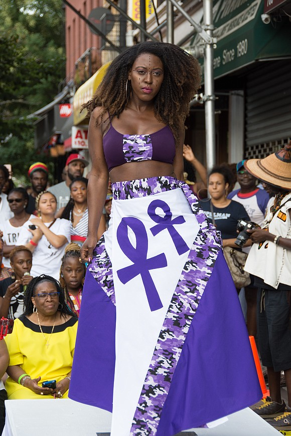 Moshood Creations celebrated their 24th year with an annual fashion show in Fort Greene, Brooklyn in July, showcasing Moshood's famous ...