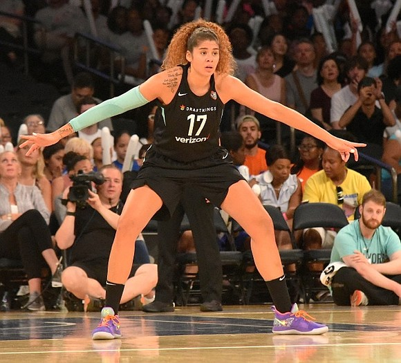 The New York Liberty entered Monday's camp day game already out of playoff contention. With just seven games left to ...