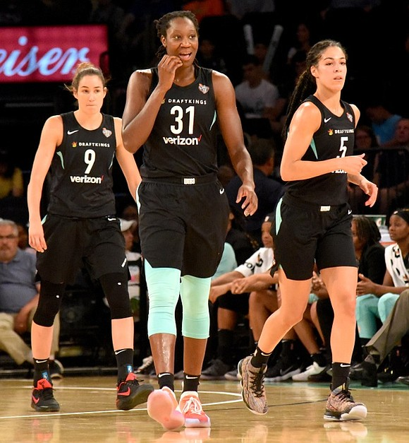After Sunday's New York Liberty 86-77 loss to the Atlanta Dream in the final home game of the season, renowned ...