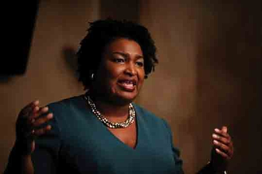 Formuch of this year, Our Weekly hasbeen reporting on Stacey Abrams, a..